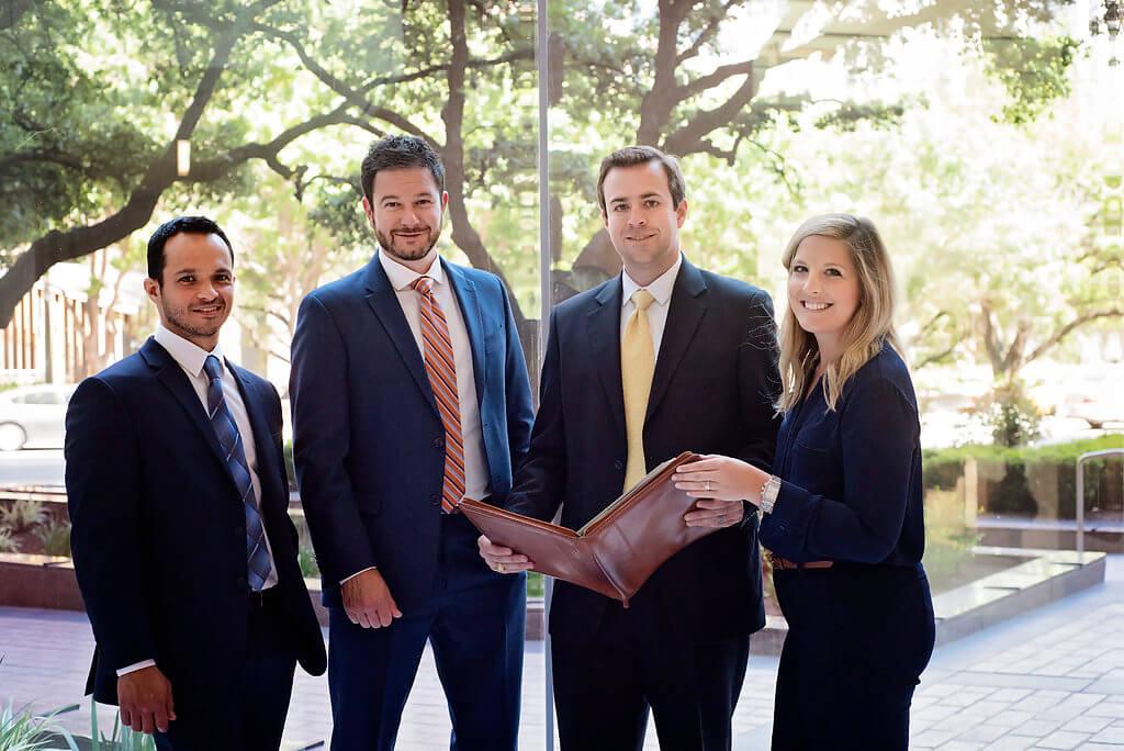 Delta Property Tax Associates smile at the camera
